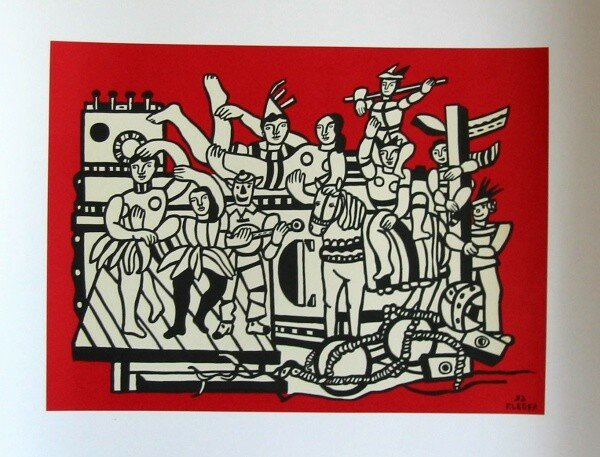 La grande parade, Fernand Léger
