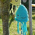 Des méduses dans mon jardin !!!