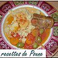 Paupiette de veau aux tomates et aux olives