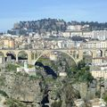 Constantine, la ville des ponts suspendus.