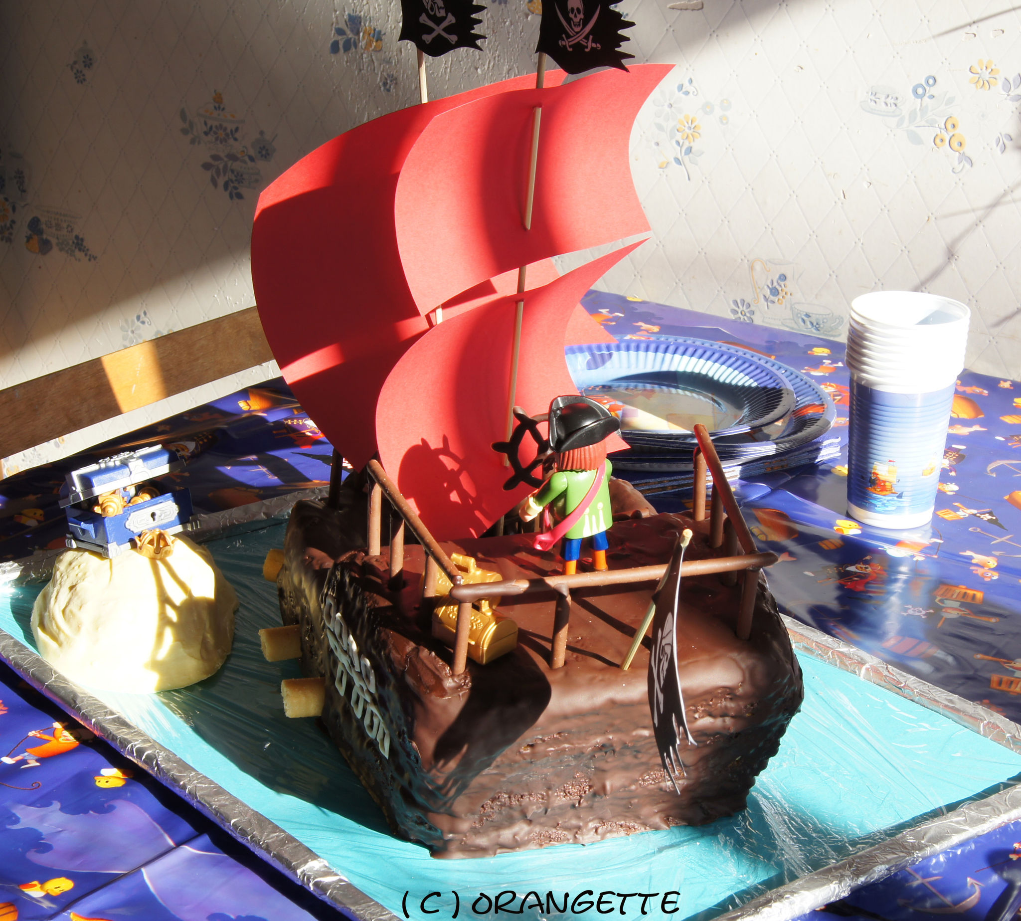 Gateau de pirate !