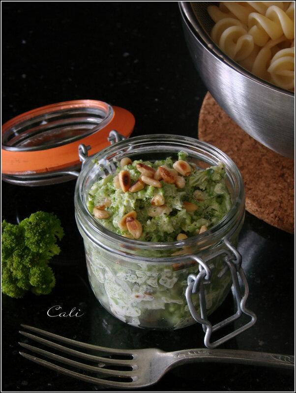 Sauce Brocoli, Pignons & Philadelphia 001