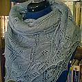 Christening estonian shawl