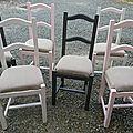 Moderniser une chaise en paille