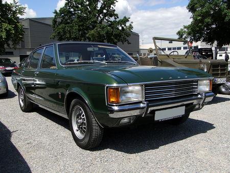 FORD Granada Mk I GXL 2300 V6 Berline 1972 1977 RegioMotoClassica 2010 1