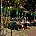 Scène de vie parisienne.