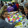 Séance créative au collège raoul dufy (le havre)