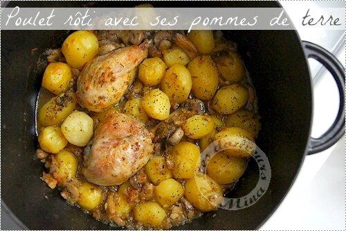 Delicieux Pilons De Poulet Roti Aux Pommes De Terre Les Douceurs