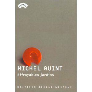 Effroyables jardins Michel Quint Lectures de Liliba