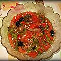 Salade juive d'alice