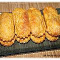Cakes ou bouchées courgettes, carottes