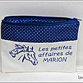 trousse cheval Marion