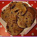 Pancakes vegan aux pépites de chocolat