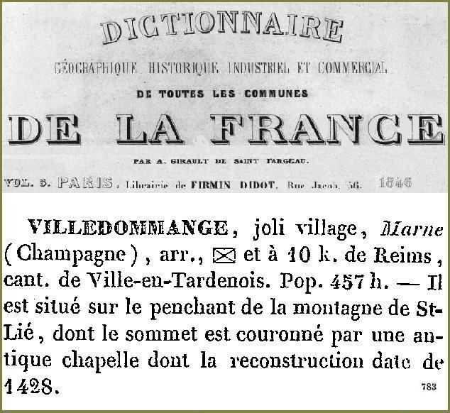 1846 JOLI VILLAGE