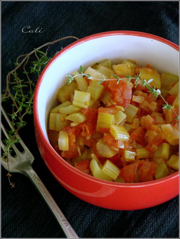 Céleri Branche à la Tomate & au Thym 002