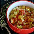Céleri branche a la tomate & au thym