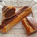 Eclairs chocolat