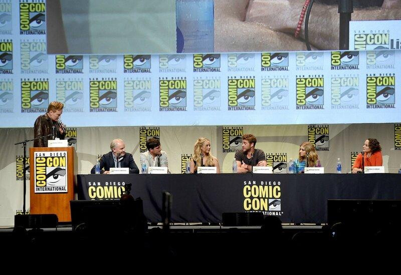 Hunger Games Mockingjay Part 2 Comic Con 2015 Panel 07