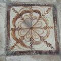 carreau décoré fleu des vents