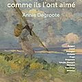 Le nord comme ils l'ont aime - annie degroote.