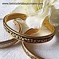 Bracelet demi-jonc cuir 2- 39 €