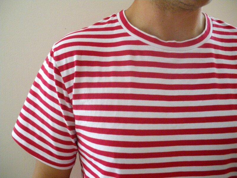 Tshirt rayé (7)