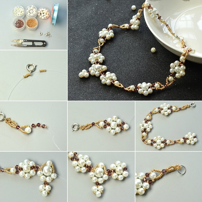 1080-Pearls-Design---How-to-Make-a-Pearl-Beaded-Flower-Necklace-with-Seed-Beads