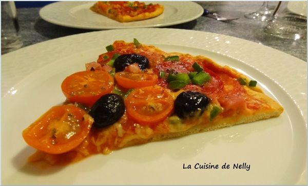 Pizza chorizo 1