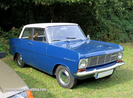 Opel kadett L berline 2 portes de 1964 (31ème Bourse d'échanges de Lipsheim) 01