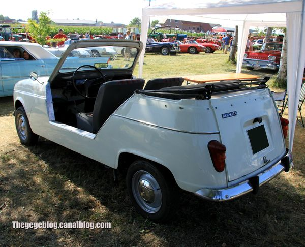 Renault 4L sinpar cabriolet plein air (6ème Fête Autorétro étang d' Ohnenheim) 02