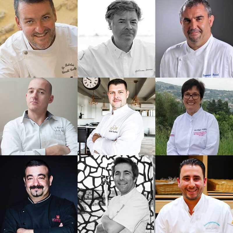 photos de chefs Anguillades 2018