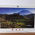 999 Indonésie - Bali - Mount Agung - vierge XL
