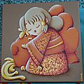 Teruko, enfant brillante (30x30)