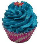cupcake de bain océan