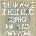 Proverbe japonais