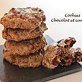 Cookies au chocolat et à la cannelle