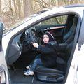 Valentin dans l'Audi S3