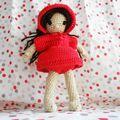 Pénéloppe en chaperon rouge
