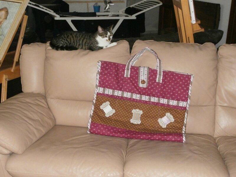 mon chat monte la garde