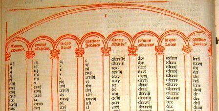 Concordance d'Eusèbe de Césarée - Bible de Cambrai - 1520