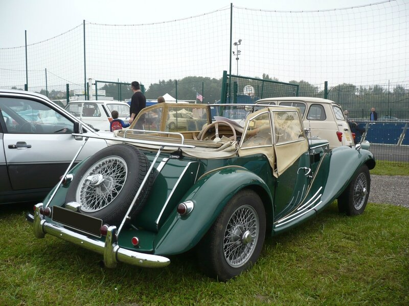 MG TF 1250 roadster 1954 Hambach (2)