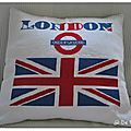 Coussin I Love London
