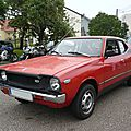 Datsun 120a f-ii cherry coupé 1976