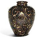 A guri-style 'Jizhou' jar, Yuan dynasty