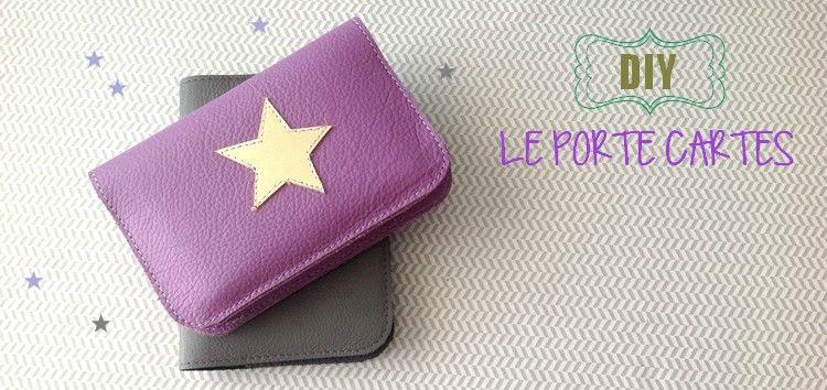 DIY // Le porte cartes en cuir - Little Fabrics
