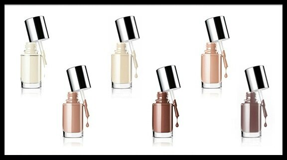 clinique nude collection vernis ongles