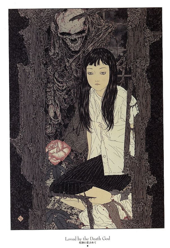 CanalBlog Artbook Takato Yamamoto Divertimento For A Martyr007