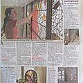 Article verre et vitrail