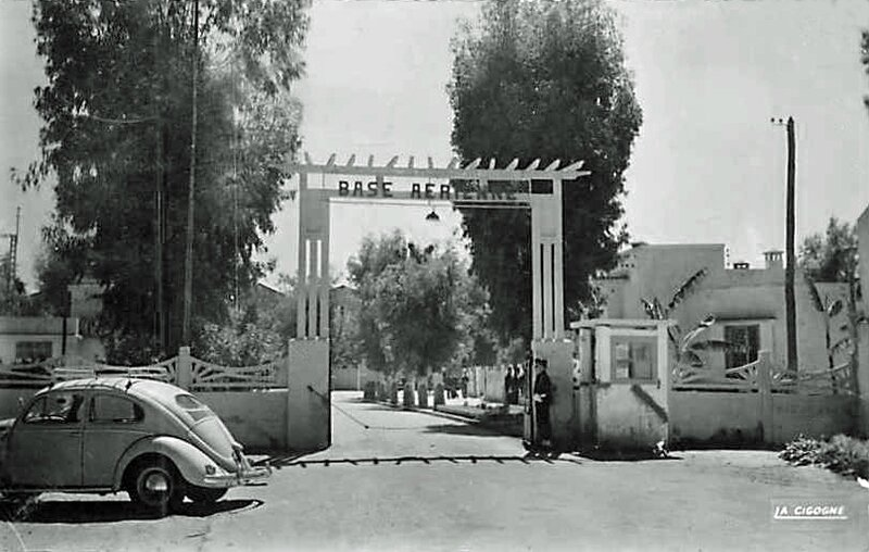 Meknes base Aérienne