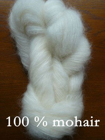 100 % mohair copie